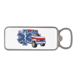 EMS Ambulance Magnetic Bottle Opener