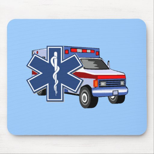 EMS Ambulance Mouse Pads