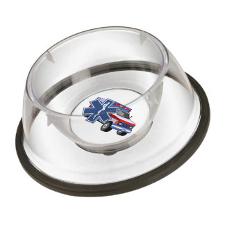 EMS Ambulance Pet Bowl