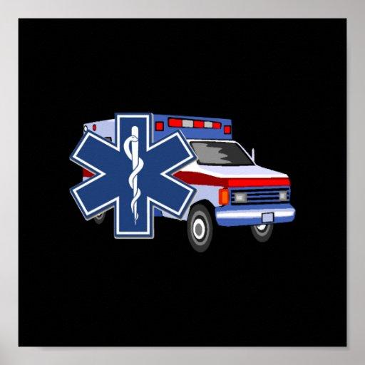 EMS Ambulance Posters
