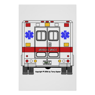 EMS-Ambulance Poster