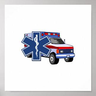 EMS Ambulance Print