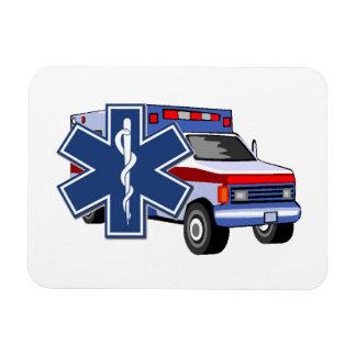 EMS Ambulance Rectangular Photo Magnet