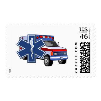 EMS Ambulance Stamp