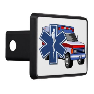 EMS EMT and Paramedic Car Hitches and Auto Plates