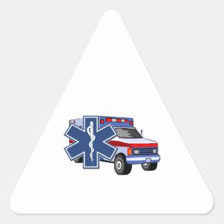 EMS Ambulance Triangle Sticker