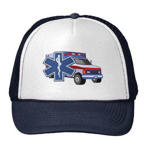 Ems Ambulance Trucker Hats Zazzle