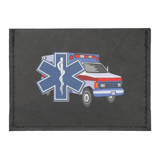EMS Ambulance Tyvek® Card Wallet