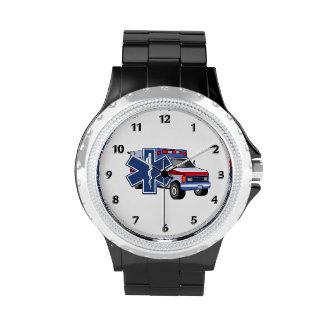 EMS Ambulance Wrist Watches