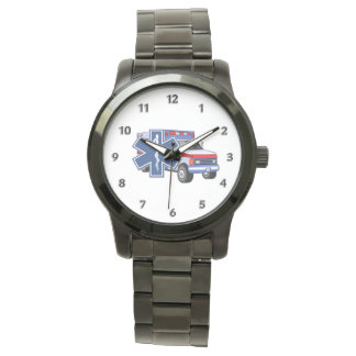 EMS Ambulance Wristwatch