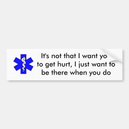 EMS Bumper Sticker