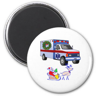 EMS Christmas Gifts 2 Inch Round Magnet