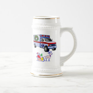 EMS Christmas Gifts Beer Stein