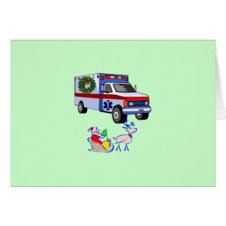EMS Christmas Gifts Greeting Card
