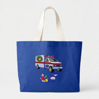 EMS Christmas Gifts Jumbo Tote Bag