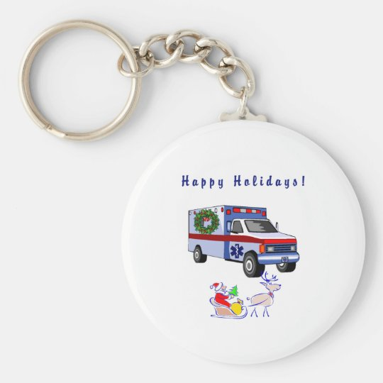 EMS Christmas Gifts Keychain