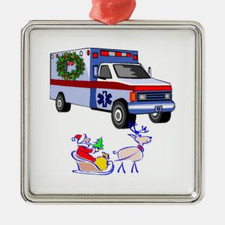 EMS Christmas Gifts Metal Ornament