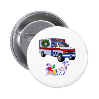 EMS Christmas Gifts Pinback Buttons
