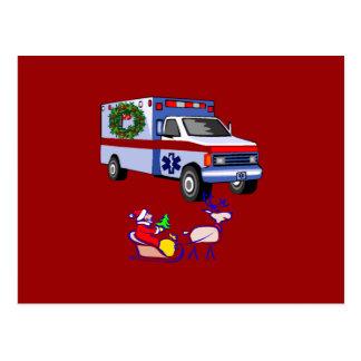 EMS Christmas Gifts Postcard