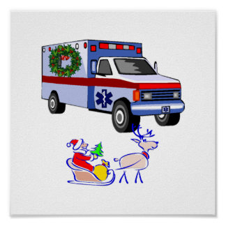 EMS Christmas Gifts Posters