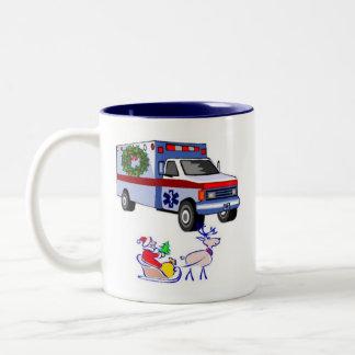 EMS Christmas Gifts Two-Tone Coffee Mug