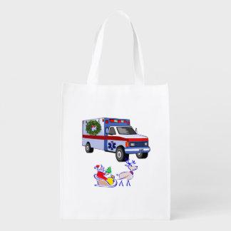 EMS Christmas Grocery Bag
