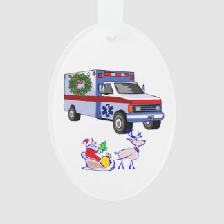 EMS Christmas Ornament