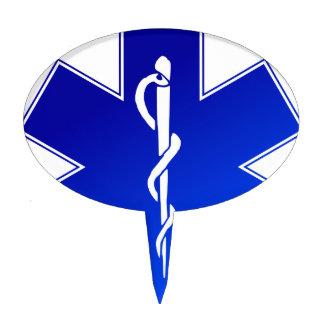 EMS Emergency Medical Service Cake Topper