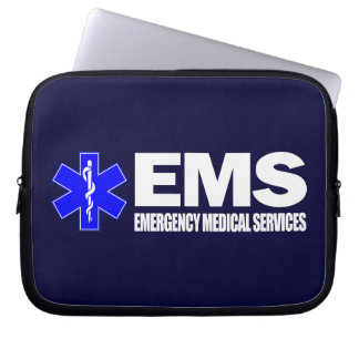 EMS -Emergency Medical Services Laptop Computer Sleeve