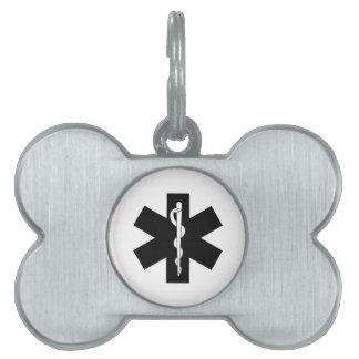 EMS Emergency Theme Pet Tag