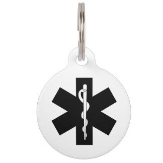 EMS EMT and Paramedic Gifts Pet Tag