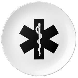 EMS EMT and Paramedic Gifts Plate