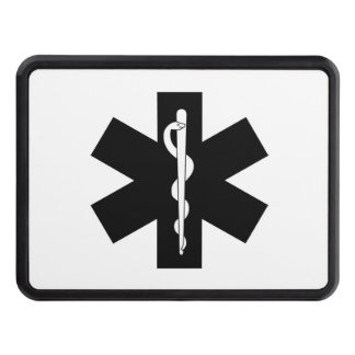 EMS EMT and Paramedic Gifts Trailer Hitch Cover