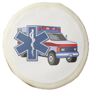 EMS EMT Paramedic Ambulance Sugar Cookie