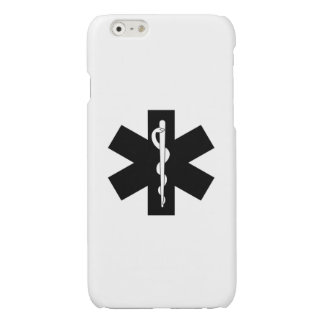EMS EMT Paramedic Star Glossy iPhone 6 Case