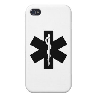 EMS EMT Paramedic Star iPhone 4/4S Cases