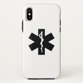 EMS EMT Paramedic Star iPhone X Case
