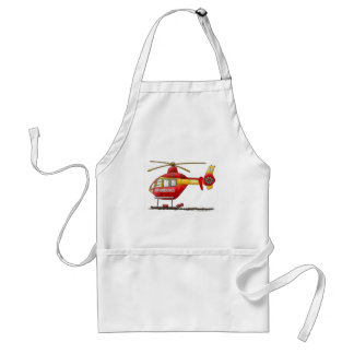 EMS EMT Rescue Medical Helicopter Ambulance Adult Apron