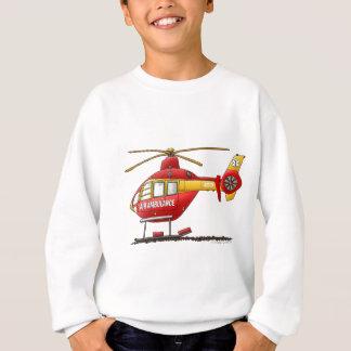 EMS EMT Rescue Medical Helicopter Ambulance Sweatshirt