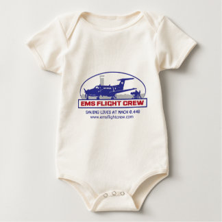 EMS Fixed Wing Turbo Prop Baby Bodysuit