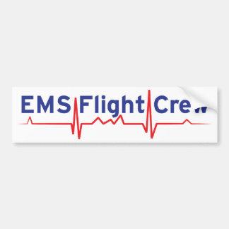 EMS Flight Crew (fwd banner) Bumper Sticker