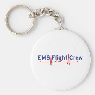 EMS Flight Crew (fwd banner) Keychain