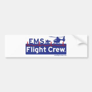 EMS Flight Crew Helicopter Alternate Logo Bumper Sticker