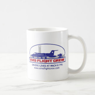 EMS Flight Crew Jet Coffee Mug