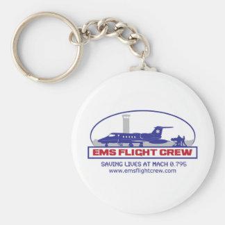 EMS Flight Crew Jet Keychain