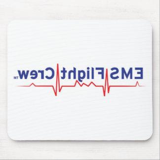 EMS Flight Crew (logo backwards) Mouse Pad