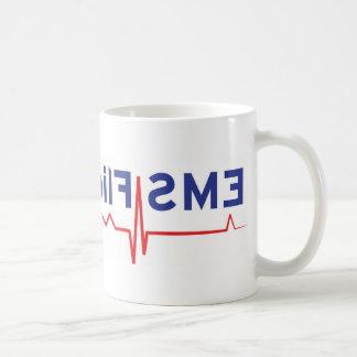 EMS Flight Crew (rear view mirror perspective) Coffee Mug