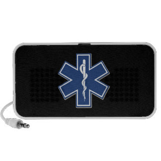 EMS Gift Ideas For Paramedics, EMT's and Rescue iPhone Speakers