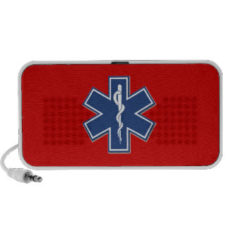 EMS Gift Ideas For Paramedics, EMT's and Rescue iPhone Speaker