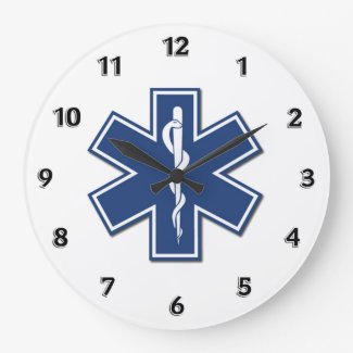 EMS EMT Paramedic Personalized Clocks